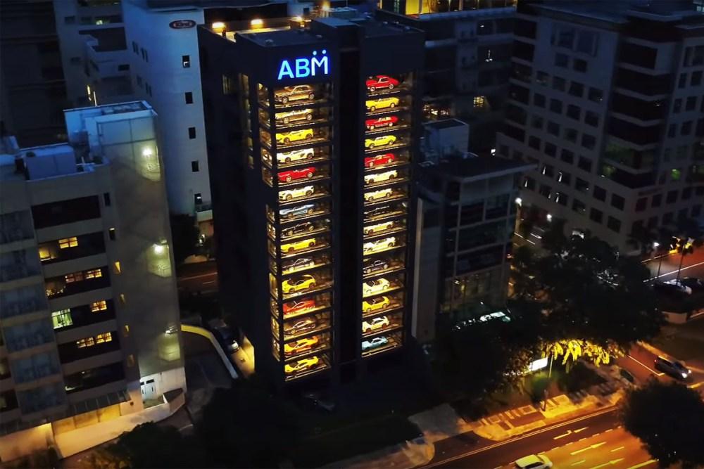 Supercar Vending Machine Autobahn Motors Singapore