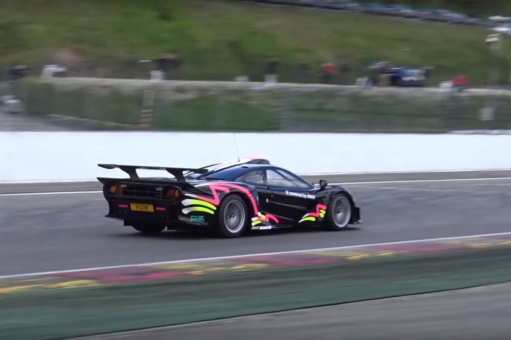 McLaren F1 GTR Long Tail Spa-Francorchamps