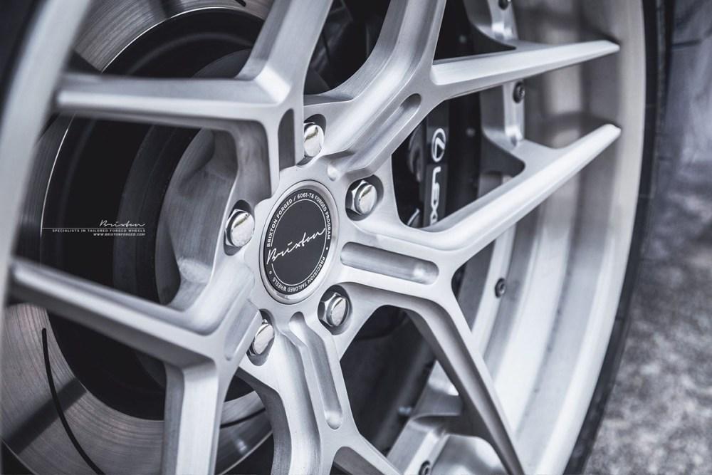 Lexus RC F Brixton Forged WR7 Targa Series Wheels by ReinART Design