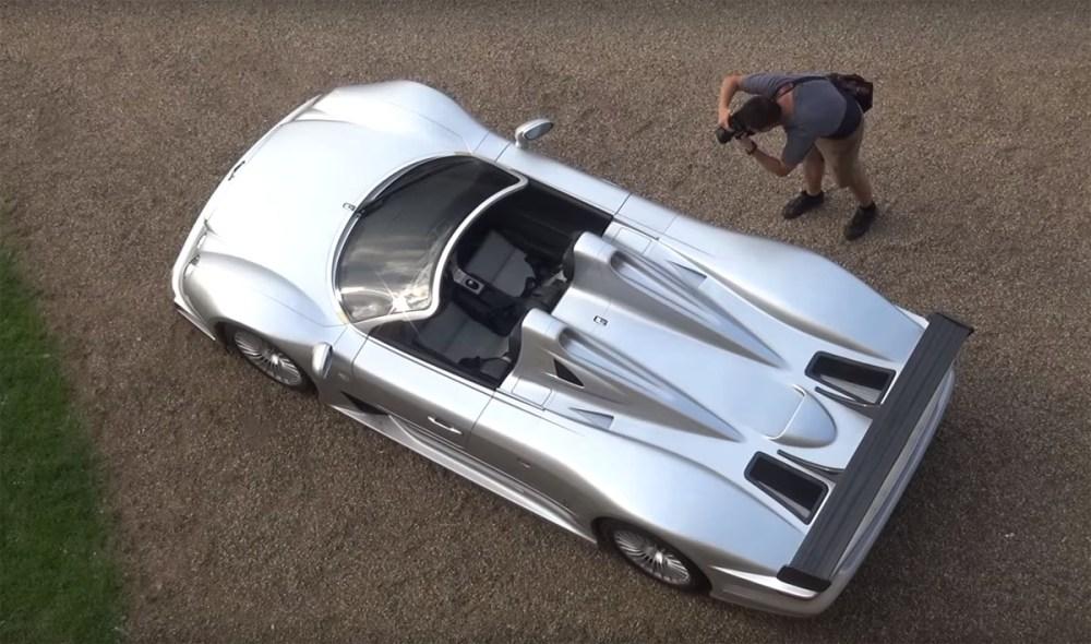 Mercedes-Benz CLK GTR Roadster Rally