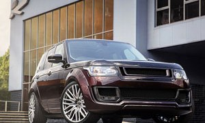 Range Rover Vogue SE Pace Car
