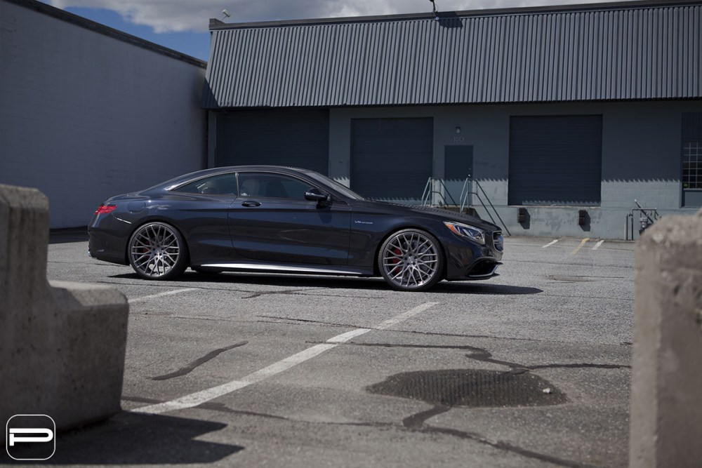 Mercedes-AMG S63 Coupe with PUR FL25 Wheels