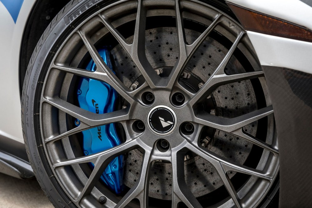 Protective Film Solutions McLaren MP4-12C with Vorsteiner VFE-403 Wheels and Aero