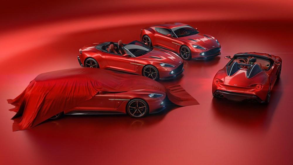 Aston Martin Vanquish Zagato Family