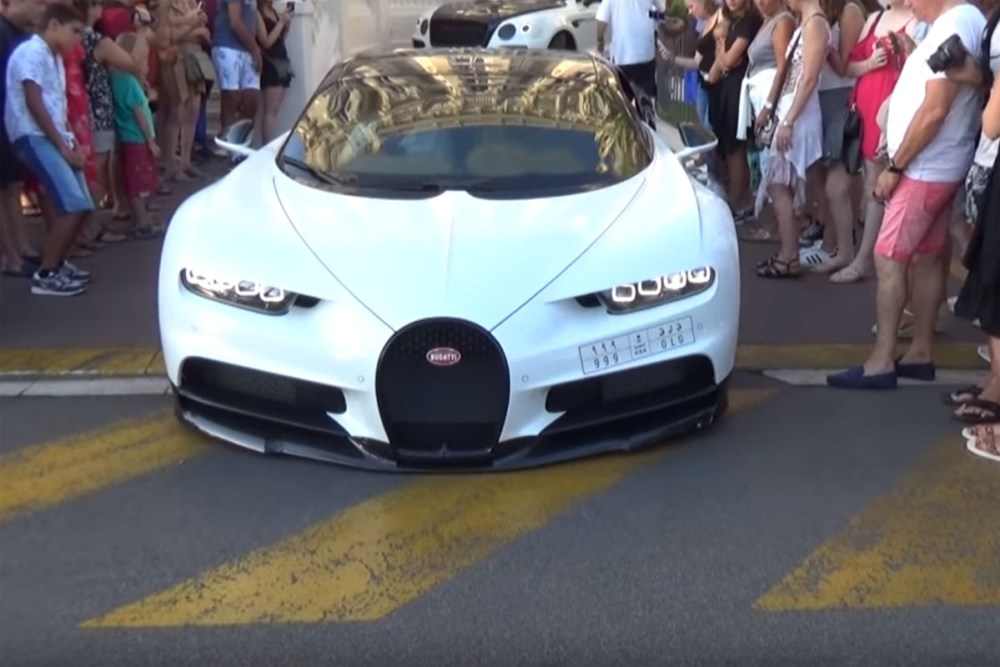 Bugatti Scraping Front lip