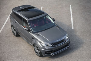 Project Kahn Range Rover Sport Pace Car