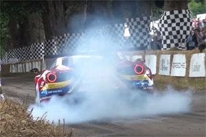 Goodwood Festival of Speed Starting line