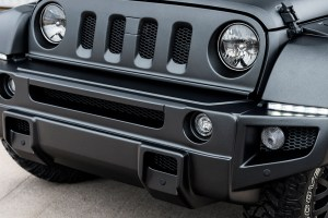 Chelsea Truck Company Jeep Wrangler Black Hawk Edition with Cooper Tires