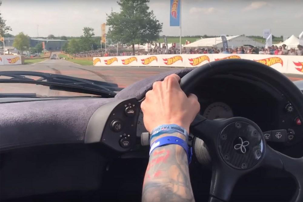 Chris Evans' McLaren F1 POV