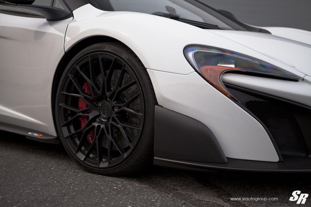 McLaren 675LT with PUR RS25 Wheels by SR Auto Group
