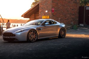 Aston Martin V8 Vantage with Brixton Forged R10 Ultrasport+ Wheels