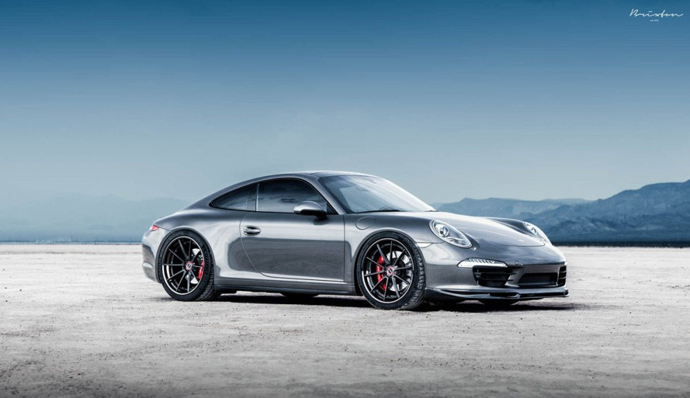 Porsche 911 Carrera 4S with Brixton Forged WR3 Targa Series Wheels