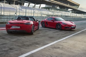 Porsche 718 Boxster GTS and 718 Cayman GTS
