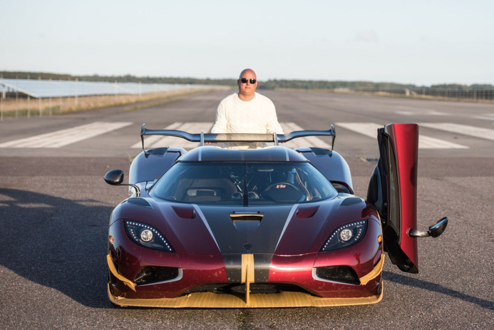 Koenigsegg Agera RS 0-400-0 KM/H World Record