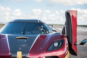 Agera RS World Record