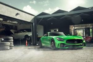 DJ Skee Mercedes-AMG GT R with ADV.1 ADV05 Track Spec Advanced Series Wheels