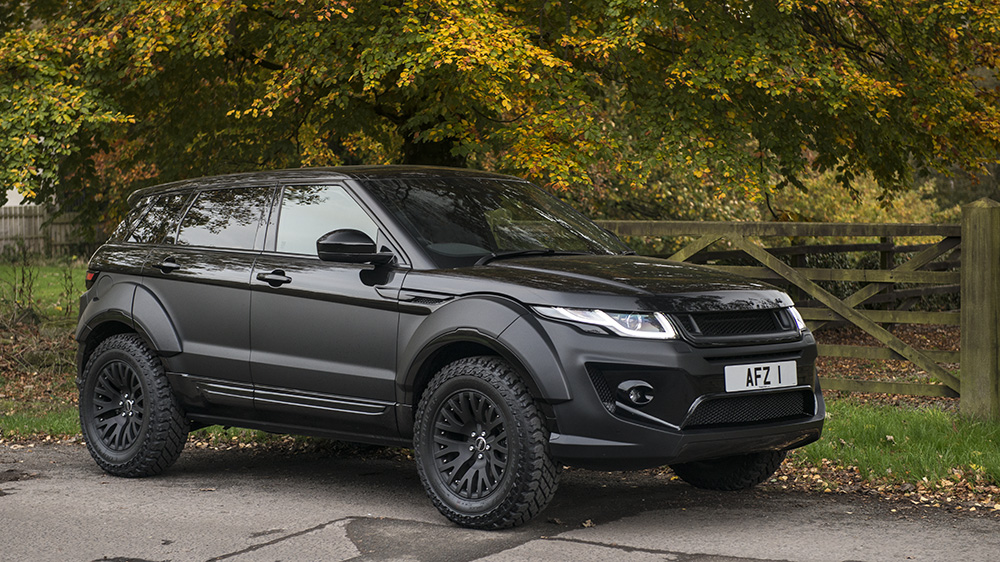 Go Rally With The Kahn Design Range Rover Evoque X Lander