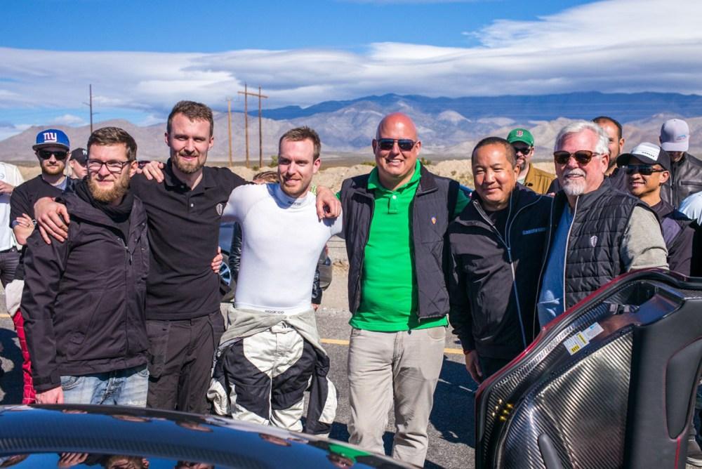 Koenigsegg Agera RS Nevada World Records