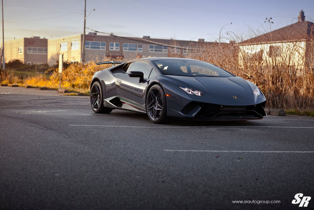 Lamborghini Huracan Performante with PUR RS22 Wheels by SR Auto Group