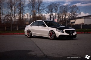 Mercedes-AMG C63 S wiht PUR LX11 Wheels by SR Auto Group