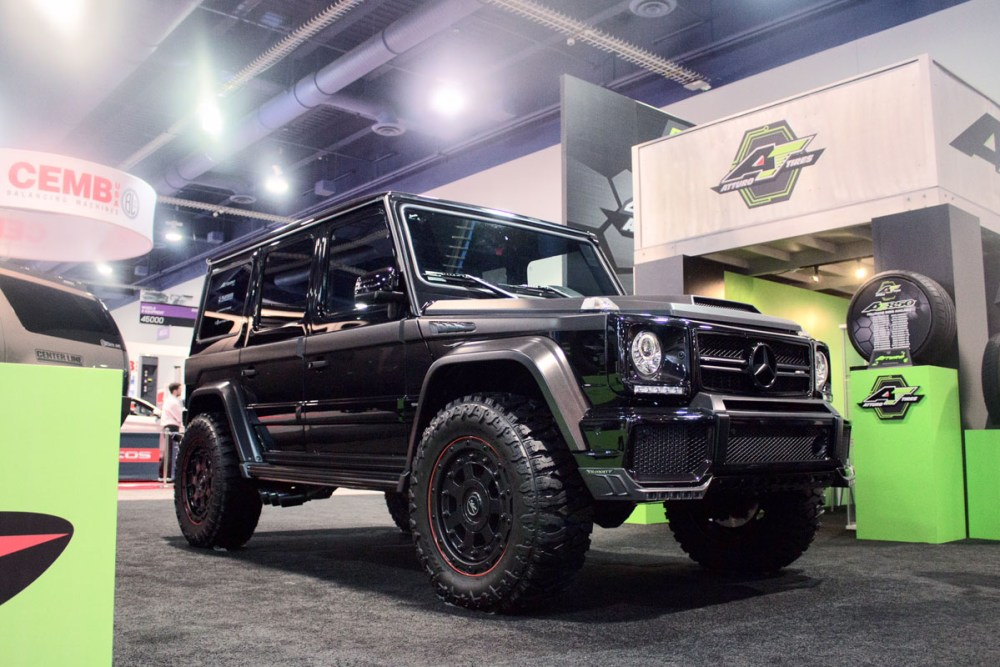 Platinum Group Mansory Mercedes G63 with 463 Industries GC01 Wheels