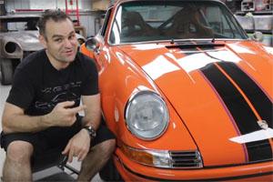 1973 Porsche 911 RSR Restoration by Home Built by Jeff