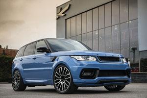 Project Kahn Powder Blue Pearl Range Rover Sport Autobiography 4.4 SDV8 Diesel Dynamic Pace Car