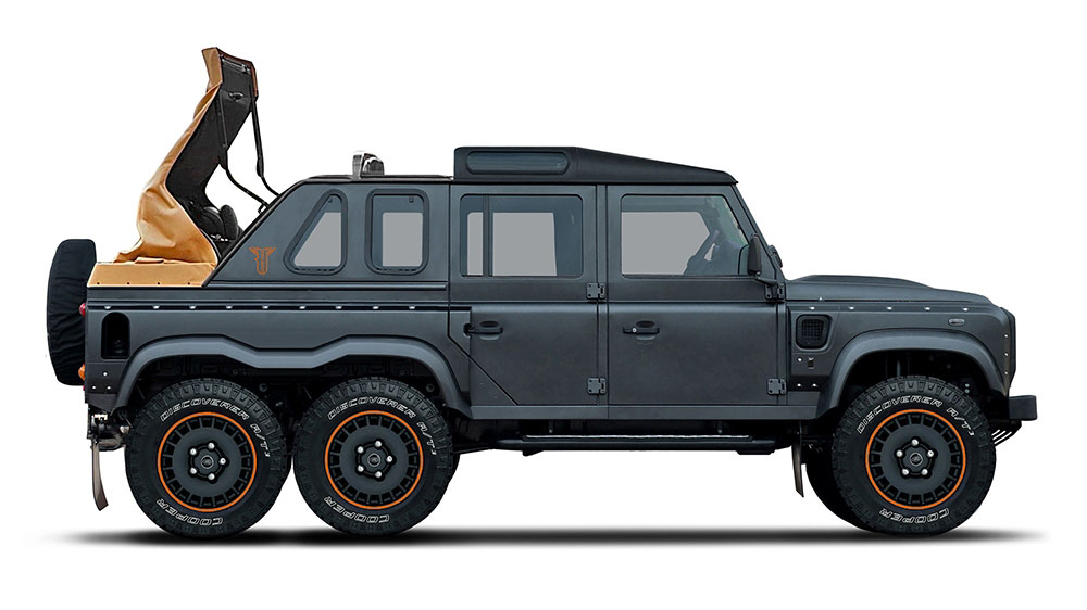 Flying Huntsman Coach Built 6X6 Soft Top