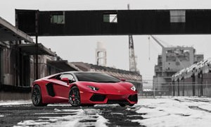 Aventador with ADV.1 Wheels