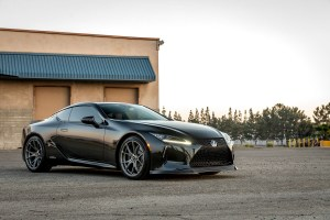 Lexus LC500h with Vorsteiner V-FF 103 Flow Forged Wheels