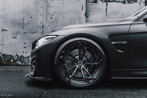 BMW M3 with Brixton Forged Wheels
