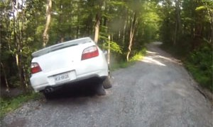 Friday FAIL: Subaru WRX Rally Crash