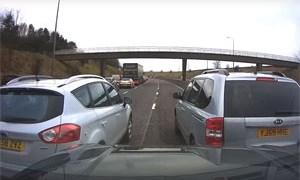 Friday FAIL Blocking Lanes