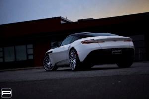 Aston Martin DB11 with PUR FL25 Wheels