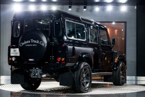 Aston Martin Storm Black Land Rover Defender 110 Station Wagon Chelsea Wide Track