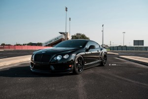 Bentley Continental GT3-R with ADV05R Directional M.V2 CS Series wheels