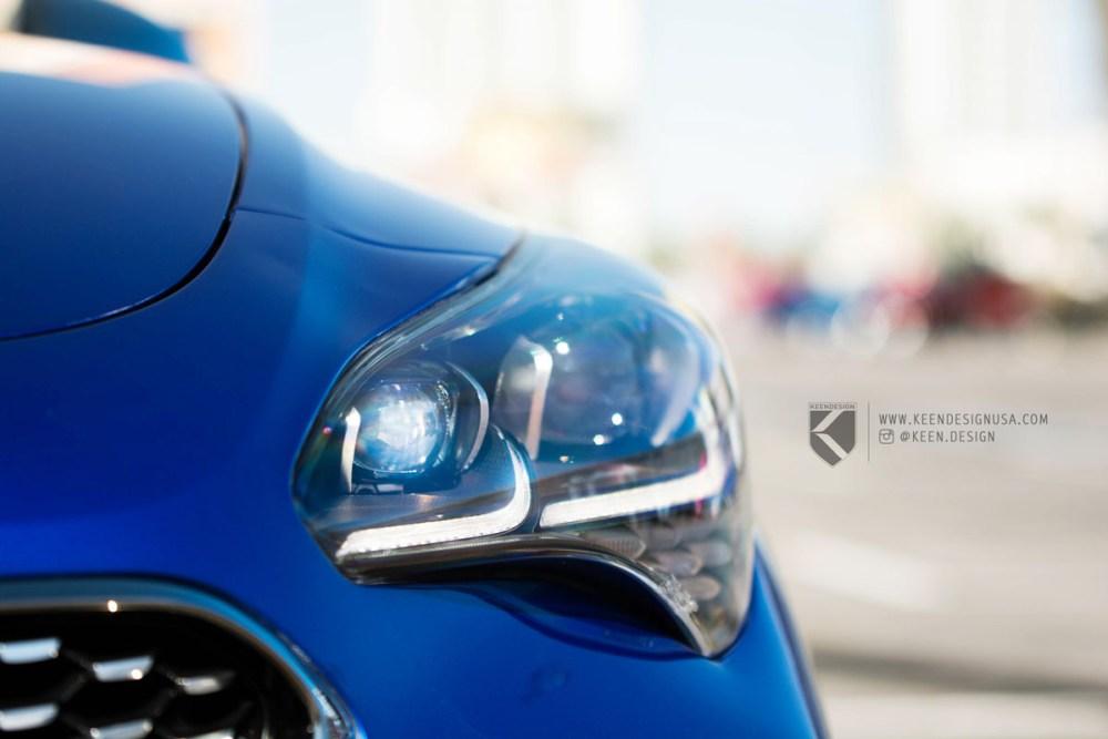 KEENDESIGN Kia Stinger GT KD07 Wheels shot by Nick Green