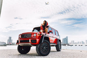 Abushi Mercedes-Benz G550 4×4² with 463 Industries GC01 Wheels