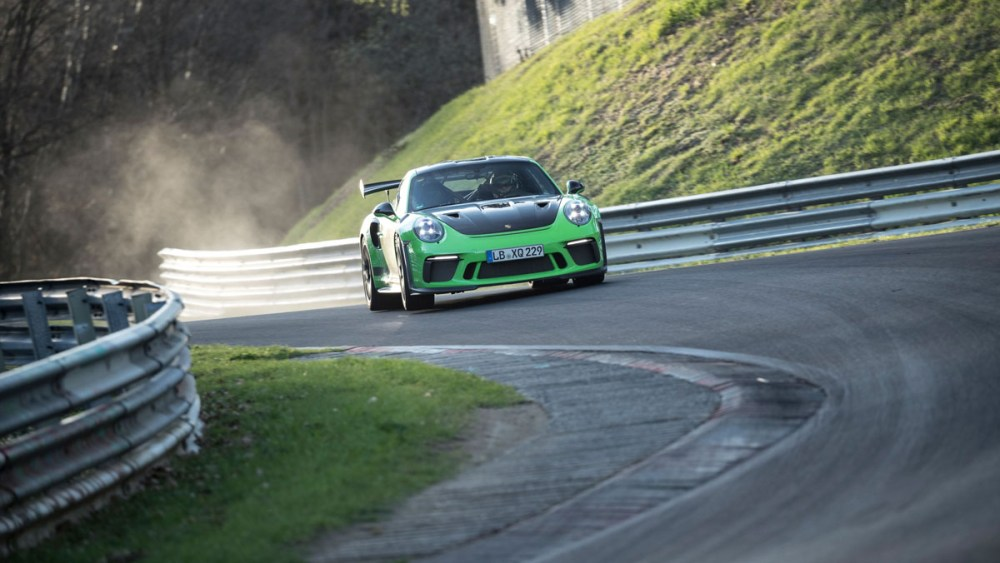 Porsche  Gt Rs Nurburgring Lap Time