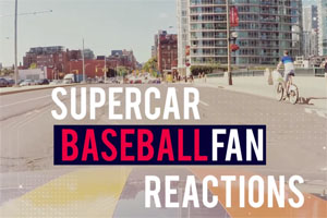 Baseball Fans Supercar Reactions