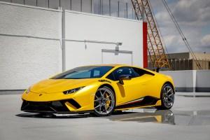 Lamborghini Huracan Performante with V-SF 001 Whels and Aero