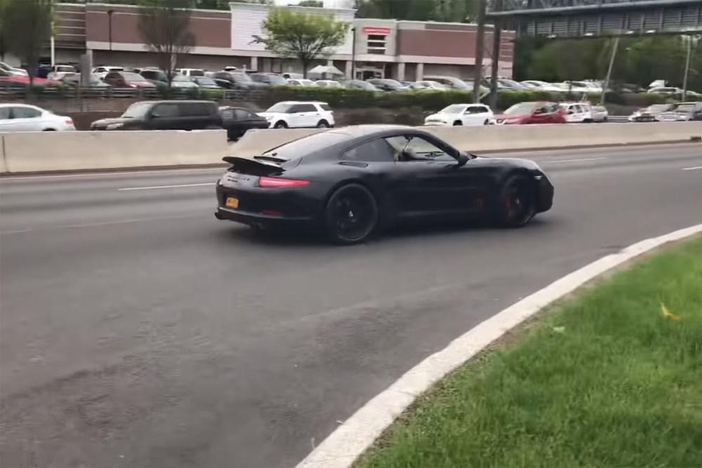 Porsche 911 Launch Control Crash