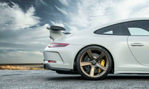 Porsche 911 GT3 Vorsteiner V-CS 003 Wheels and V-RS Carbon Hood