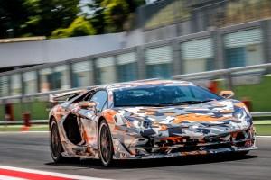 Lamborghini Aventador SVJ Nürburgring Nordschleife Lap Record