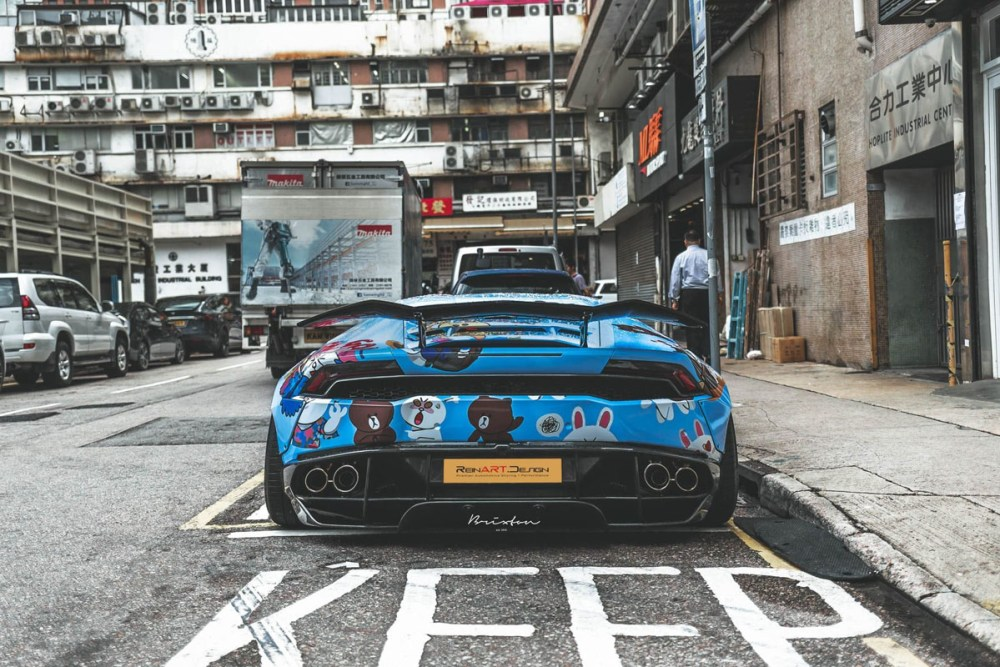 ReinART Design Liberty Walk Lamborghini Huracan Brixton Forged PF5 Targa Series Wheels Line Friends