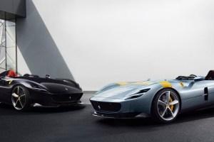 Ferrari Monza SP1 and Monza SP2