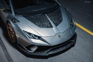 Lamborghini Huracan Performante with Brixton Forged PF5 Ultrasport+ Wheels
