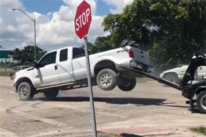 Friday FAIL Ford F-250 vs F-450 Tow Repo