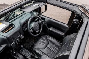 Chelsea Truck Company Jeep Wrangler Night Eagle Black Hawk Edition
