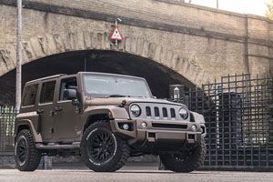 Chelsea Truck Company Jeep Wrangler Night Eagle Black Hawk
